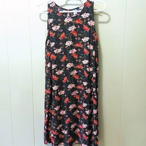 🌴 Old Navy Floral Sleeveless Swing Dress